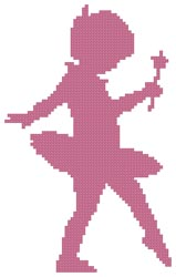 Little Ballerina - Cross Stitch Chart