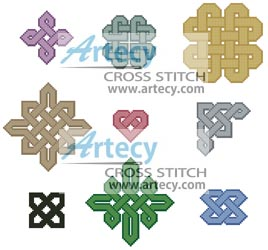 Little Celtic Patterns - Cross Stitch Chart