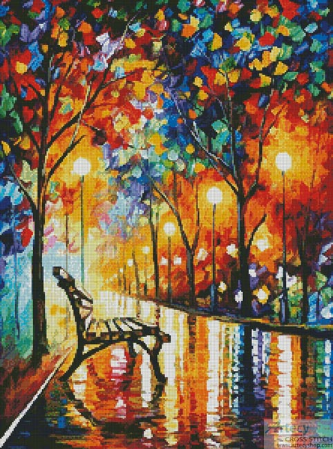 Loneliness of Autumn - Cross Stitch Chart