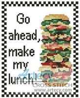 Lunch - Cross Stitch Chart