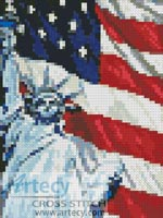Mini America - Cross Stitch Chart