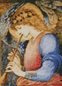Mini An Angel - Cross Stitch Chart