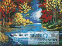 Mini Autumn River - Cross Stitch Chart