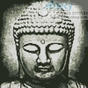 Mini Buddha - Cross Stitch Chart