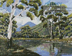 Mini Bush Creek - Cross Stitch Chart