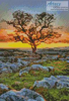 Mini Dales Dusk - Cross Stitch Chart