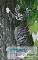 Mini Hang in there - Cross Stitch Chart