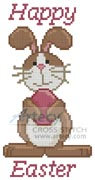 Mini Happy Easter 2 - Cross Stitch Chart