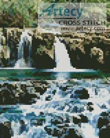 Mini Waterfalls - Cross Stitch Chart