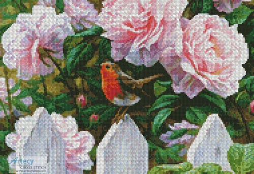 Morning in Provence (Crop 2) - Cross Stitch Chart