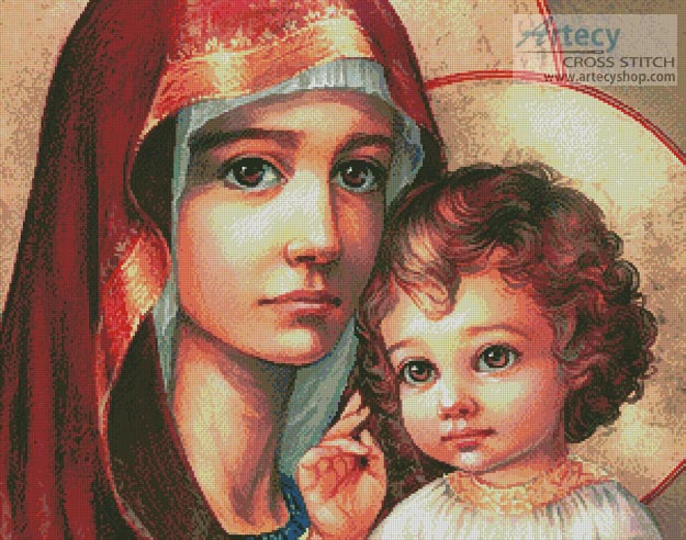Mother of God 2 - Cross Stitch Chart