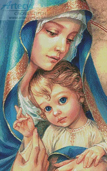 Mother of God - Cross Stitch Chart