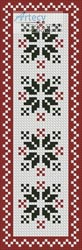 Nordic Bookmark 2 - Cross Stitch Chart