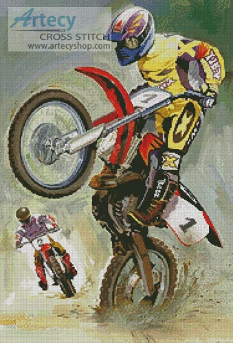 Off Road Riders - Cross Stitch Chart