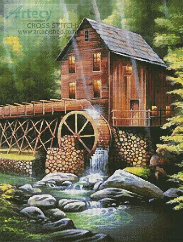 Ole Country Mill - Cross Stitch Chart