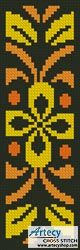 Ornamental Bookmark 1 - Cross Stitch Chart