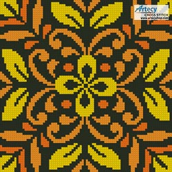 Ornamental Square 1 - Cross Stitch Chart