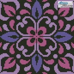 Ornamental Square 2 - Cross Stitch Chart