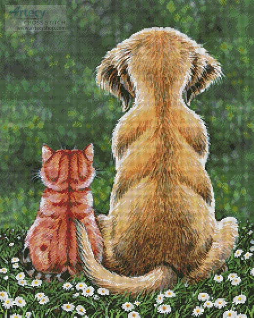 Pals Forever - Cross Stitch Chart