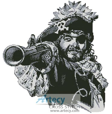 Pirate 2 - Cross Stitch Chart