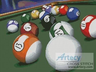 Pool 1 - Cross Stitch Chart