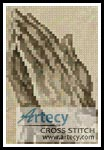 Praying Hands Card - Cross Stitch Chart