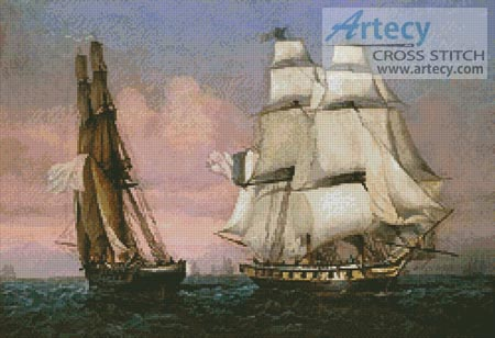 Return of Napoleon from Elba - Cross Stitch Chart