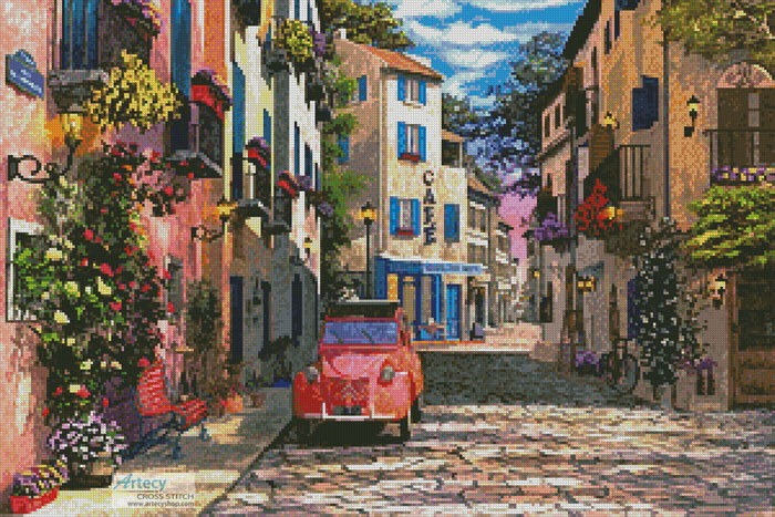 Rue Francais - Cross Stitch Chart