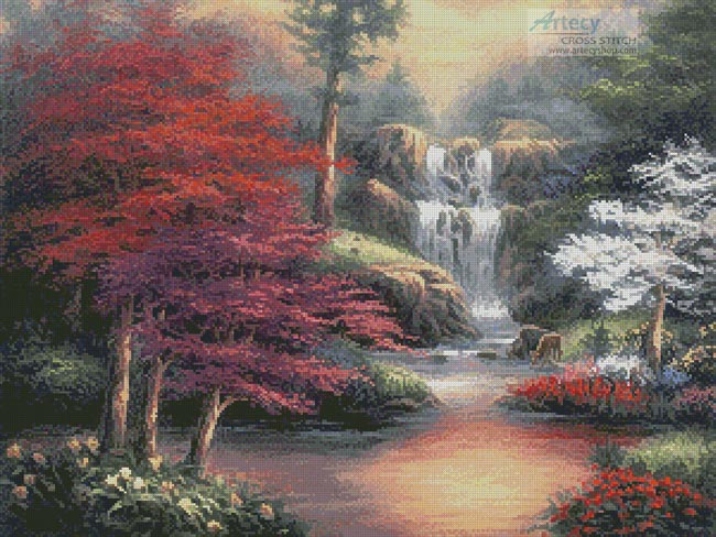 Sanctuary - Cross Stitch Chart