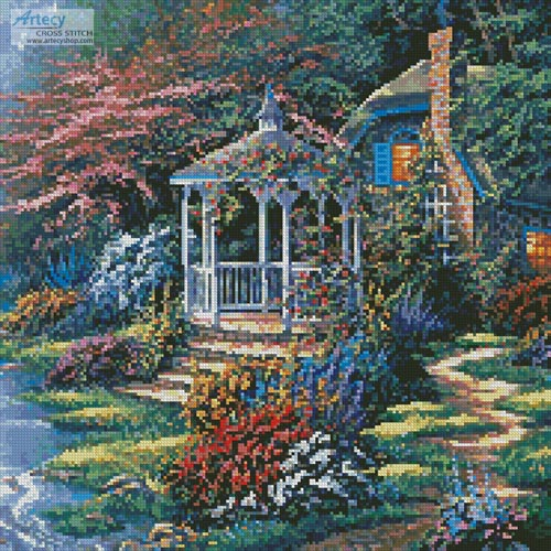 Secret Hideaway (Crop) - Cross Stitch Chart