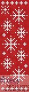 Snowflake Bookmark - Cross Stitch Chart