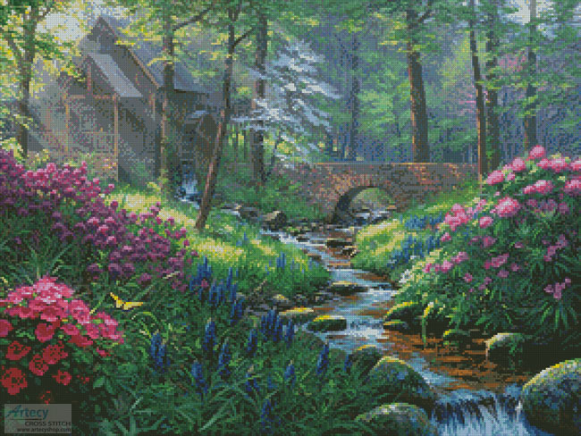 Spring's Renewal - Cross Stitch Chart