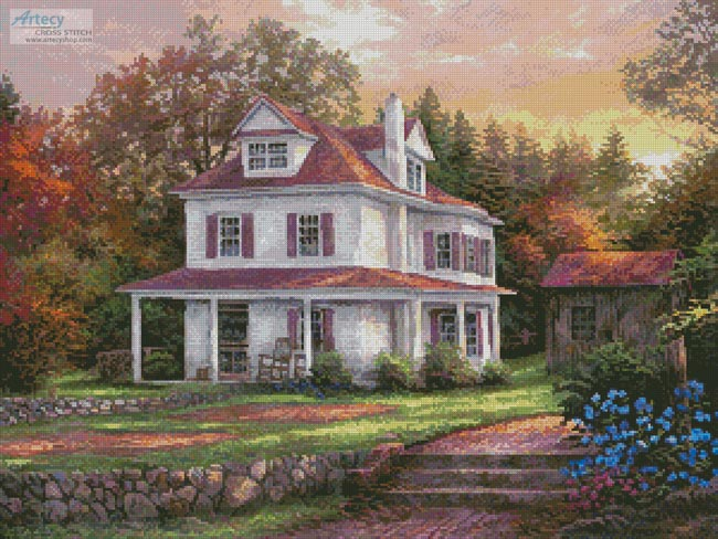 Stone Terrace Farm - Cross Stitch Chart