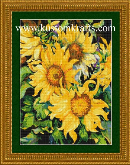 Sunflowers - Kustom Krafts Chart
