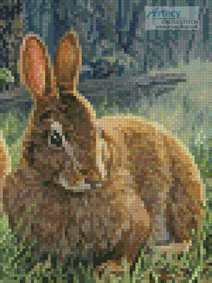 Sunny Bunnies (Crop 2) - Cross Stitch Chart