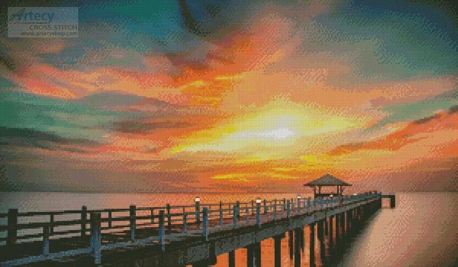 Sunset Dreams - Cross Stitch Chart