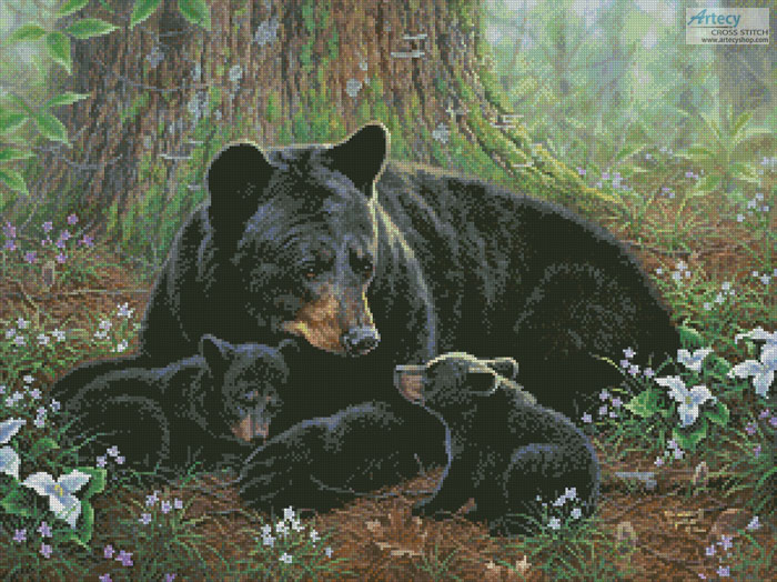 Tender Moments - Cross Stitch Chart