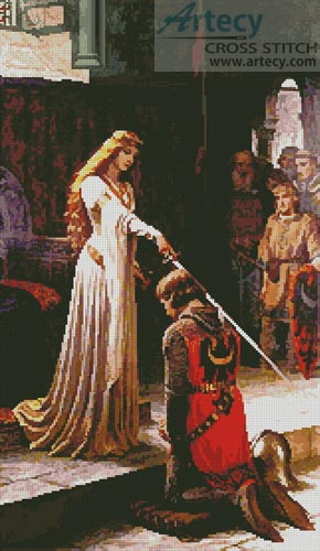 The Accolade - Cross Stitch Chart