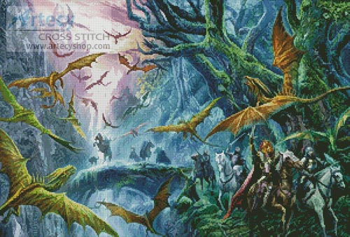 The Forest Swarm - Cross Stitch Chart