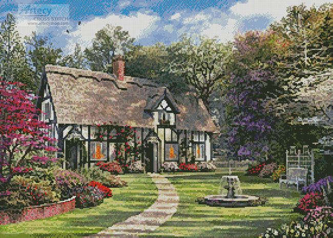 The Hideaway Cottage - Cross Stitch Chart