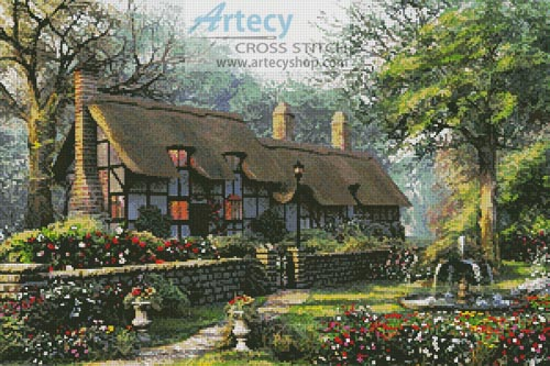 The Old Cottage - Cross Stitch Chart