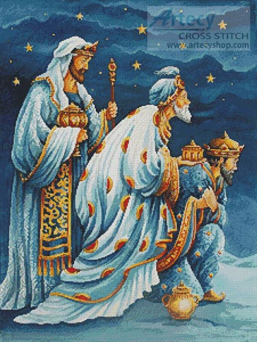 Three Wise Men - Cross Stitch Chart