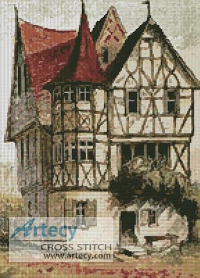 Tudor Home - Cross Stitch Chart