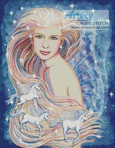 Unicorn Dreams - Cross Stitch Chart