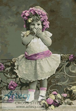 Victorian Cutie - Cross Stitch Chart
