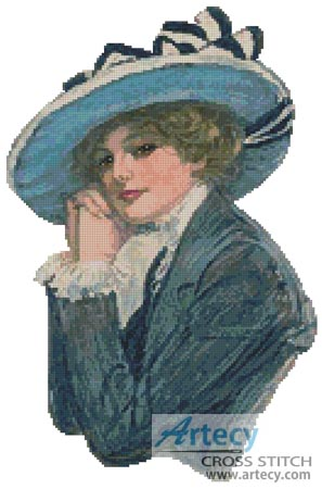 Virginia - Cross Stitch Chart