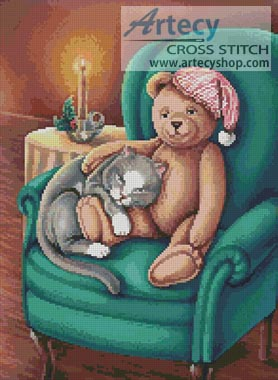 Waiting for Santa - Cross Stitch Chart