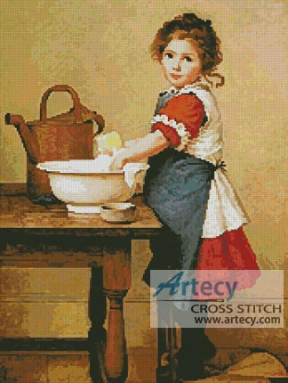 This is the way we wash our clothes - Cross Stitch Chart