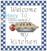 Kitchen - Cross Stitch Chart
