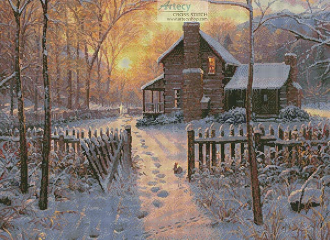 Welcome Winter - Cross Stitch Chart